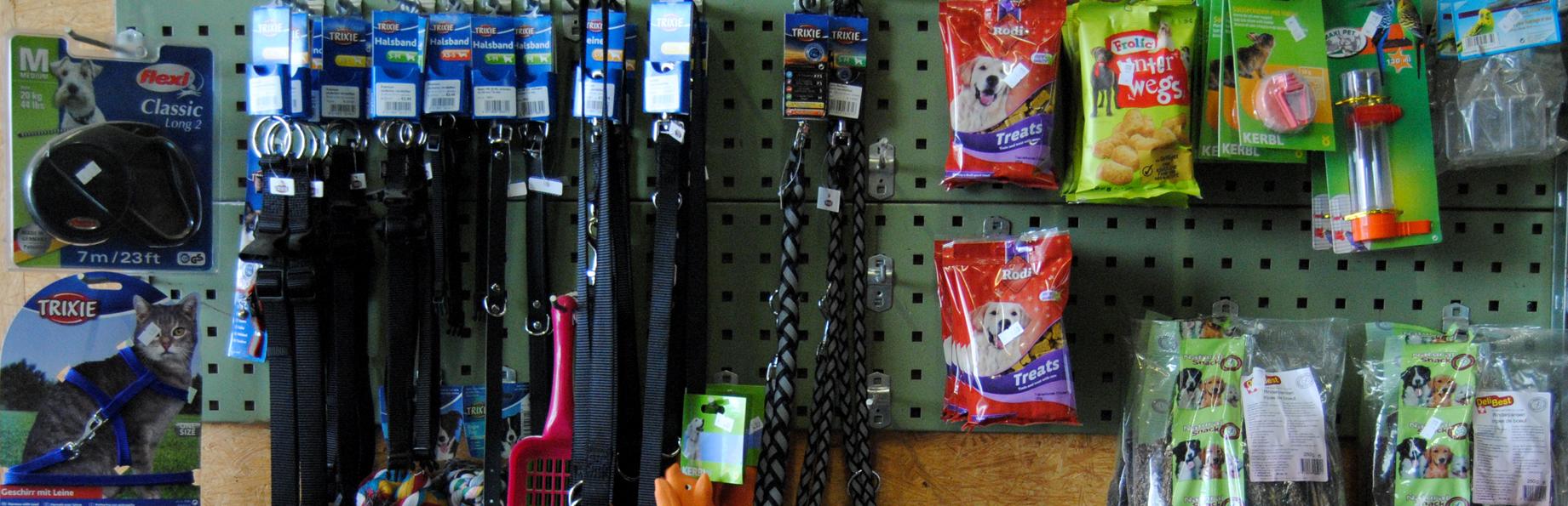 Heimtierbedarf, Hundefutter, Nagerfutter, Zubehör